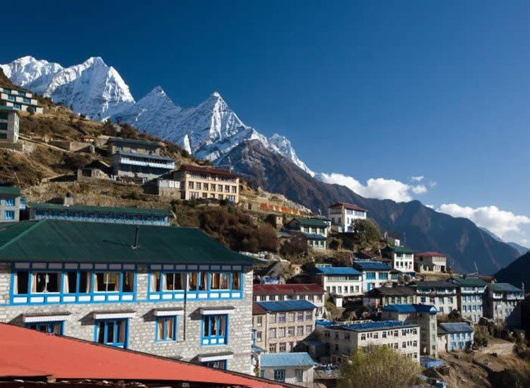 Everest Base Camp 7days with Helicopter return